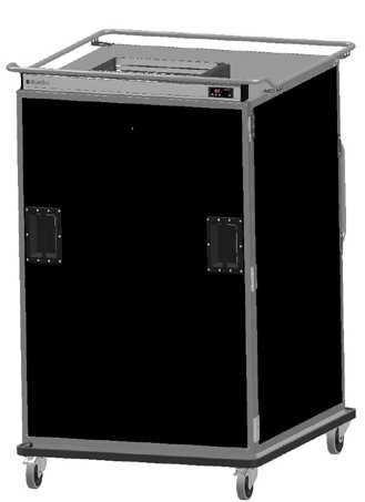 Scanbox Büyük Yemek Tabakları için Sıcak Arabası