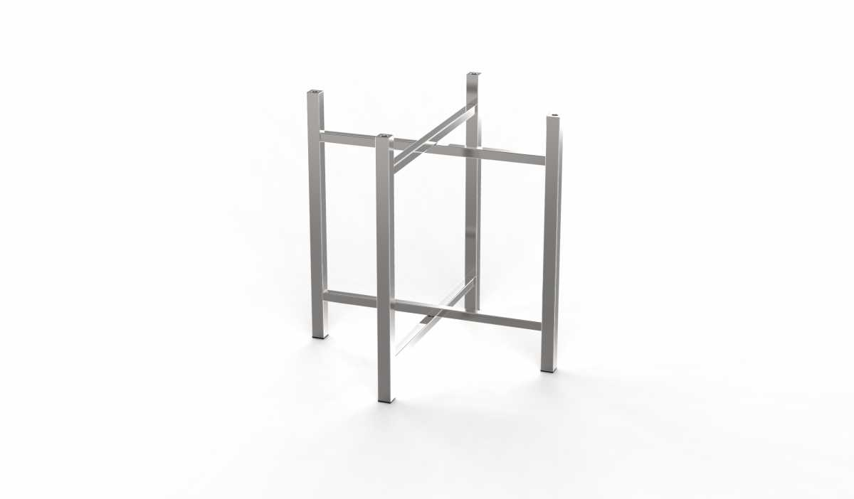 CRASTER 700 Serisi Paslanmaz Çelik Ayak, Kısa