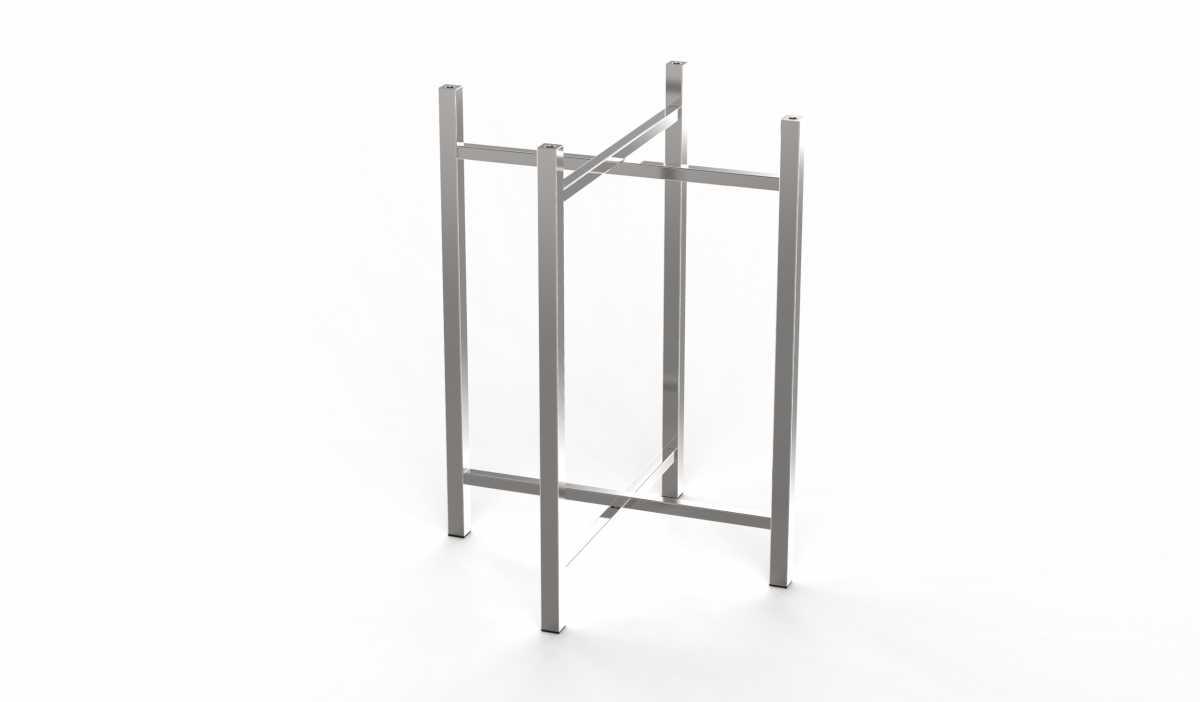 CRASTER 800 Serisi Paslanmaz Çelik Ayak, Orta