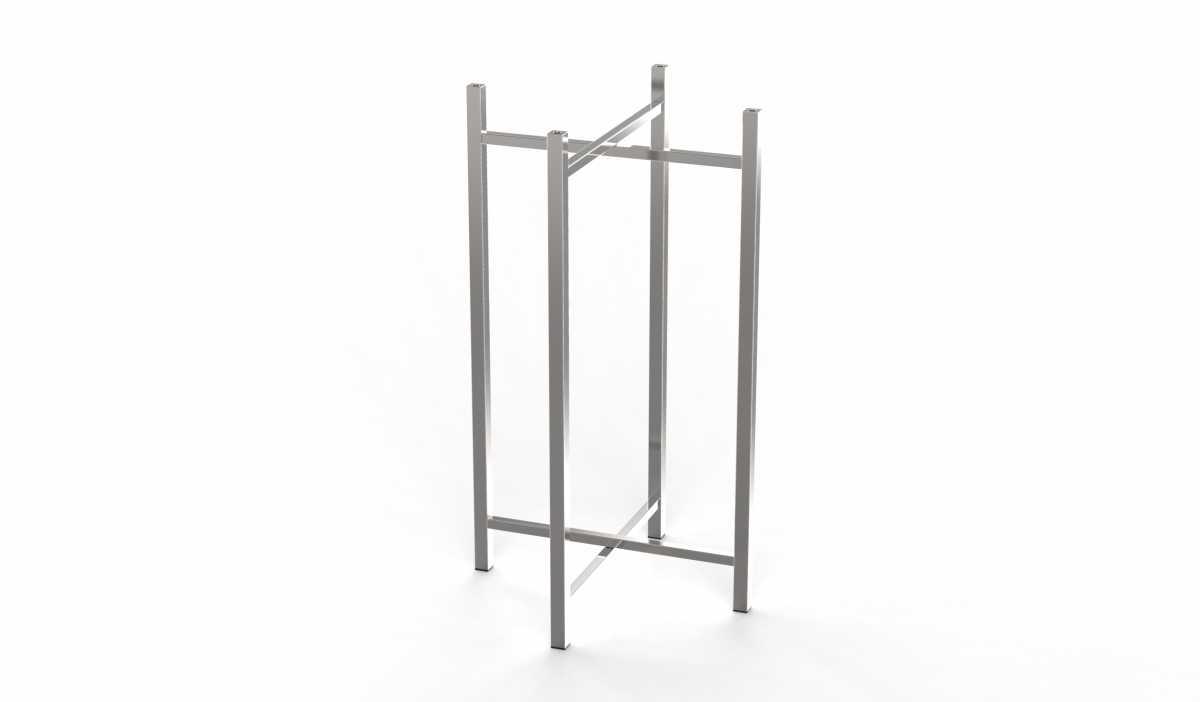CRASTER 800 Serisi Paslanmaz Çelik Ayak, Uzun
