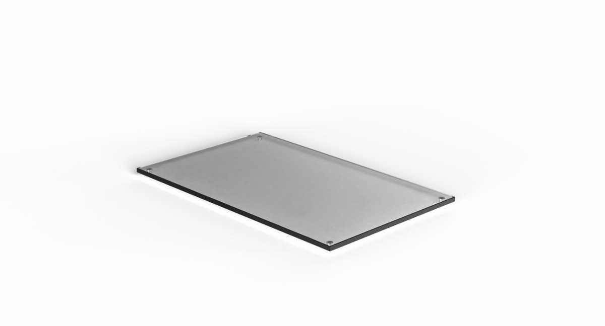 CRASTER Flow Plinth 1.1 - Siyah Cam