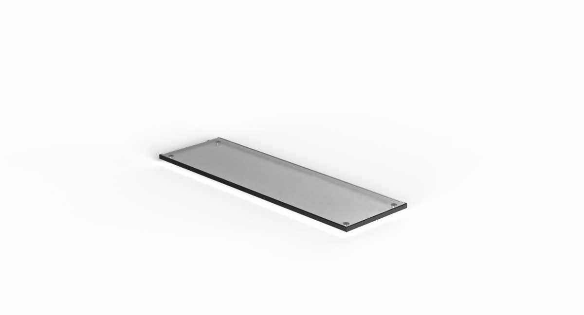 CRASTER Flow Plinth 1.2 - Siyah Cam