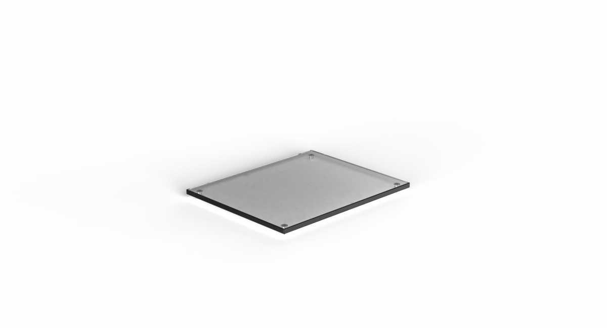 CRASTER Flow Plinth 2.4 - Siyah Cam