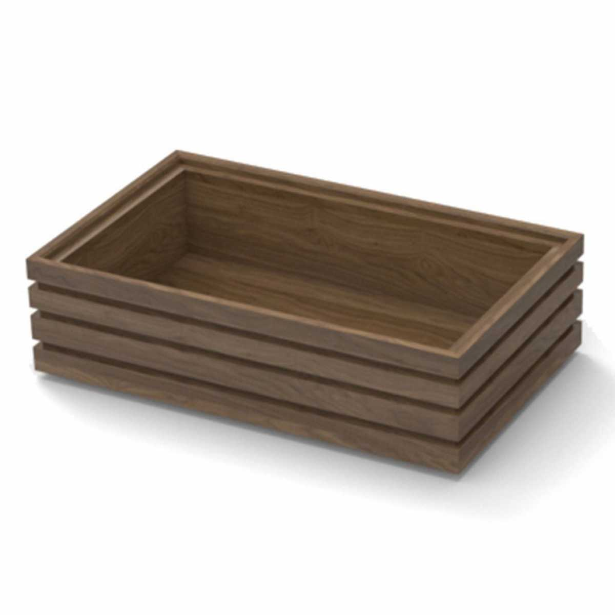 CRASTER Flow Walnut Tray 1.4 - Uzun