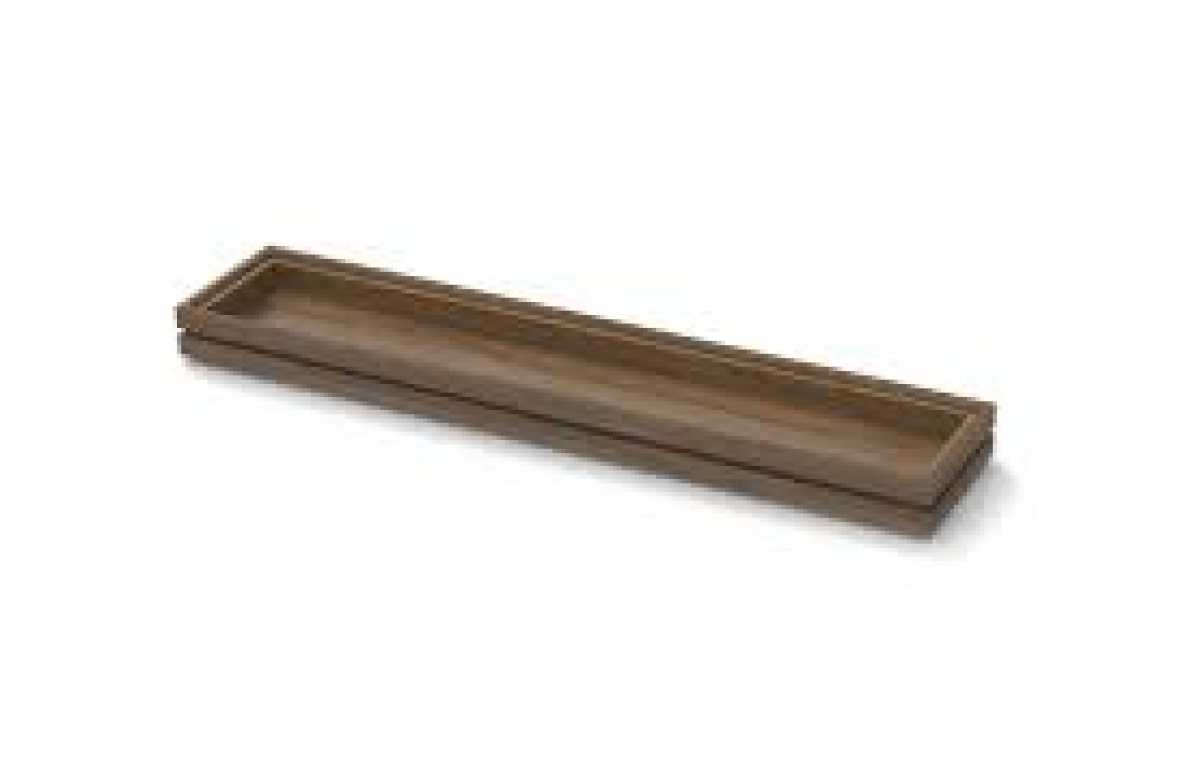 CRASTER Flow Walnut Tray 3.9 - Uzun