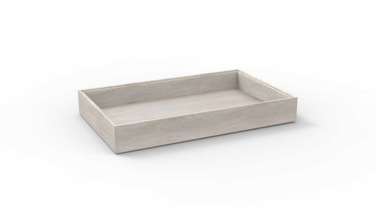 CRASTER Flow White-Washed Tray 1.1 - Uzun