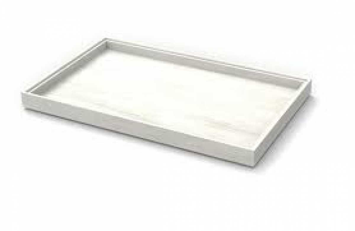 CRASTER Flow White-Washed Tray 3.9 - Tall