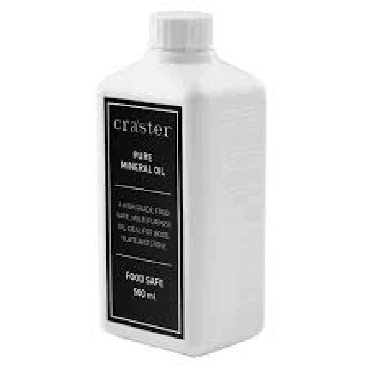 CRASTER Saf Mineral Yağ, 500 ml