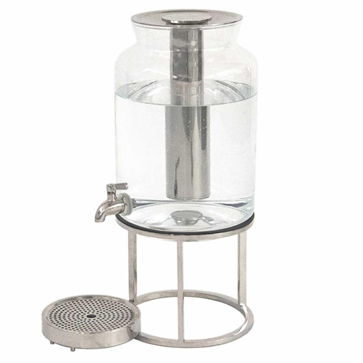 CRASTER Tilt PCM Soğutmalı Meyve Suyu Dispenser Seti Cam Kavanoz