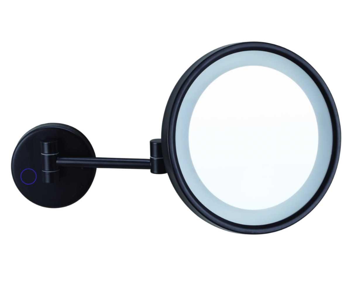 Crown International Neve Yuvarlak Işıklı Ayna