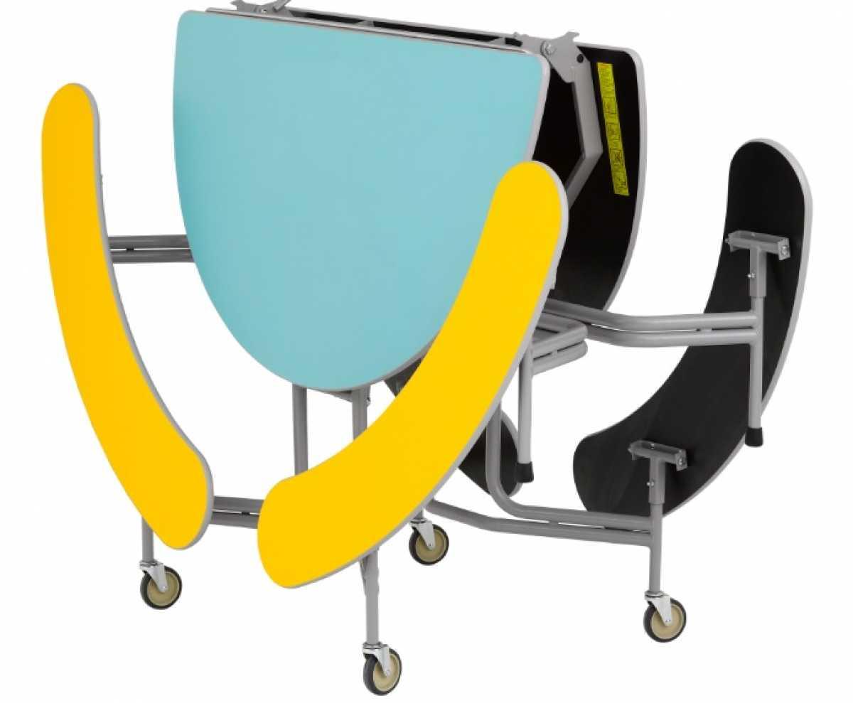 SICO Graduate Table Seating Unit, Oval