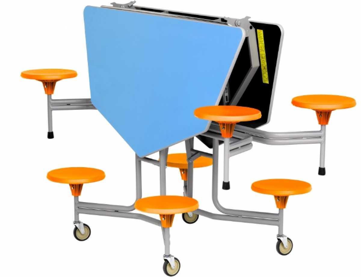 Graduate Table Seating Unit, Octagonal