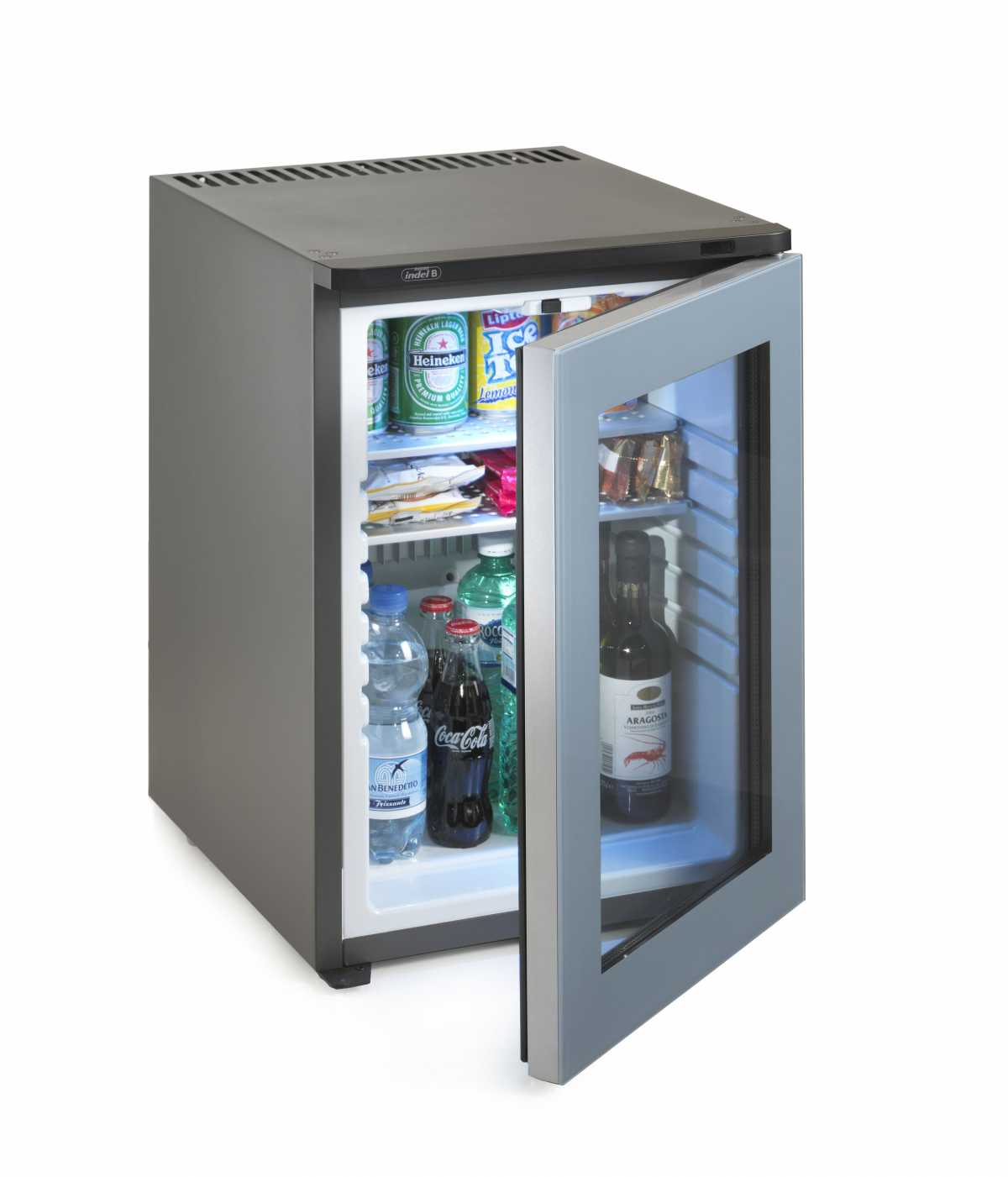 INDEL B Drink 40 Plus PV Cam Kapılı Minibar