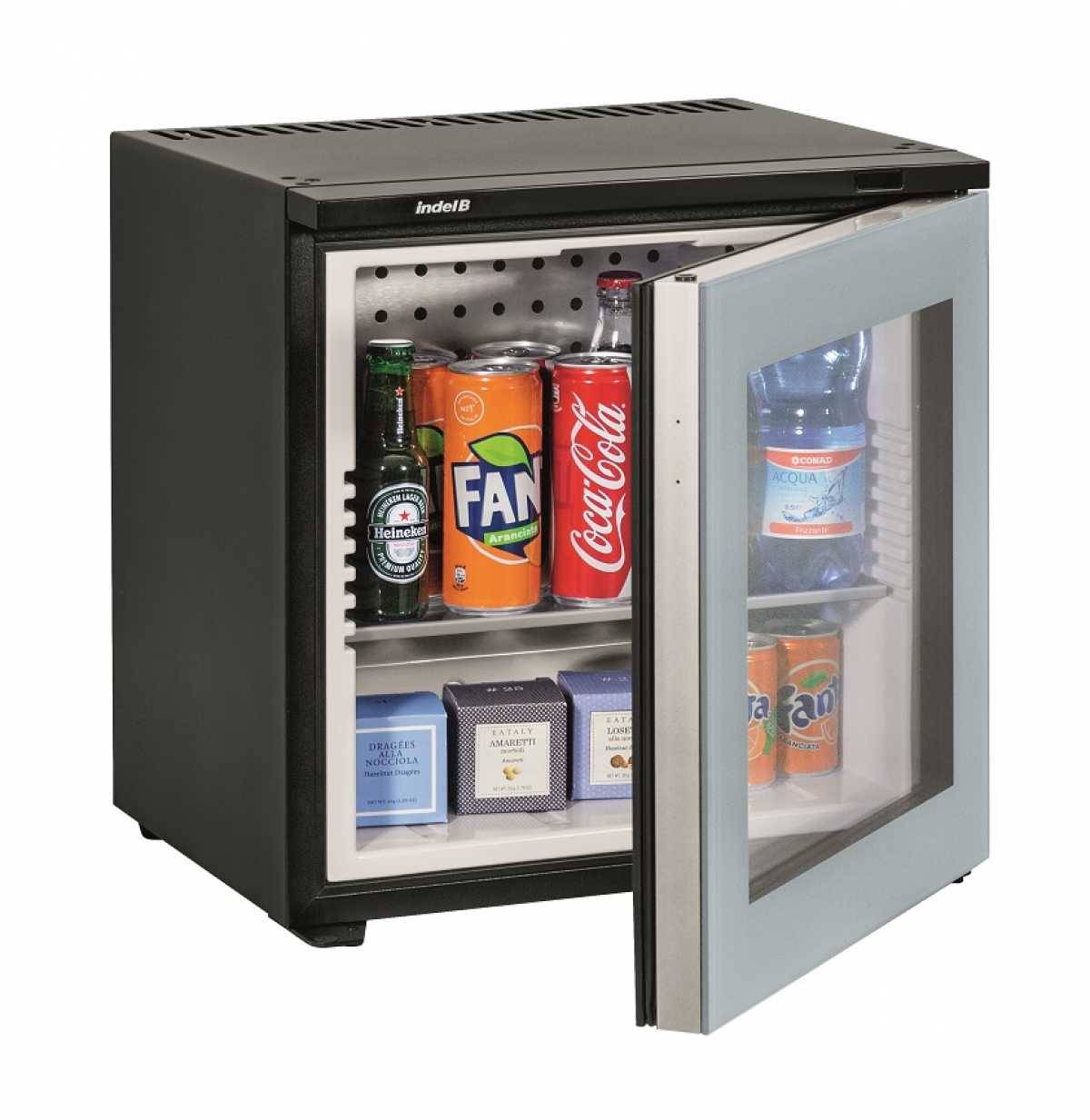 INDEL B K 20 Ecosmart PV Cam Kapılı Minibar