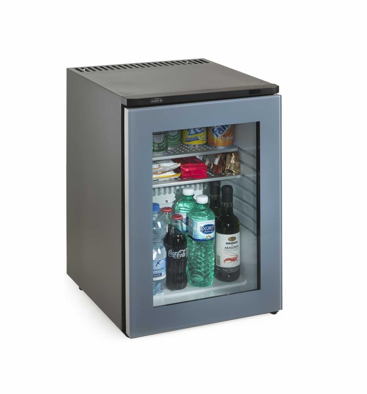 INDEL B K 40 Ecosmart PV Cam Kapılı Minibar