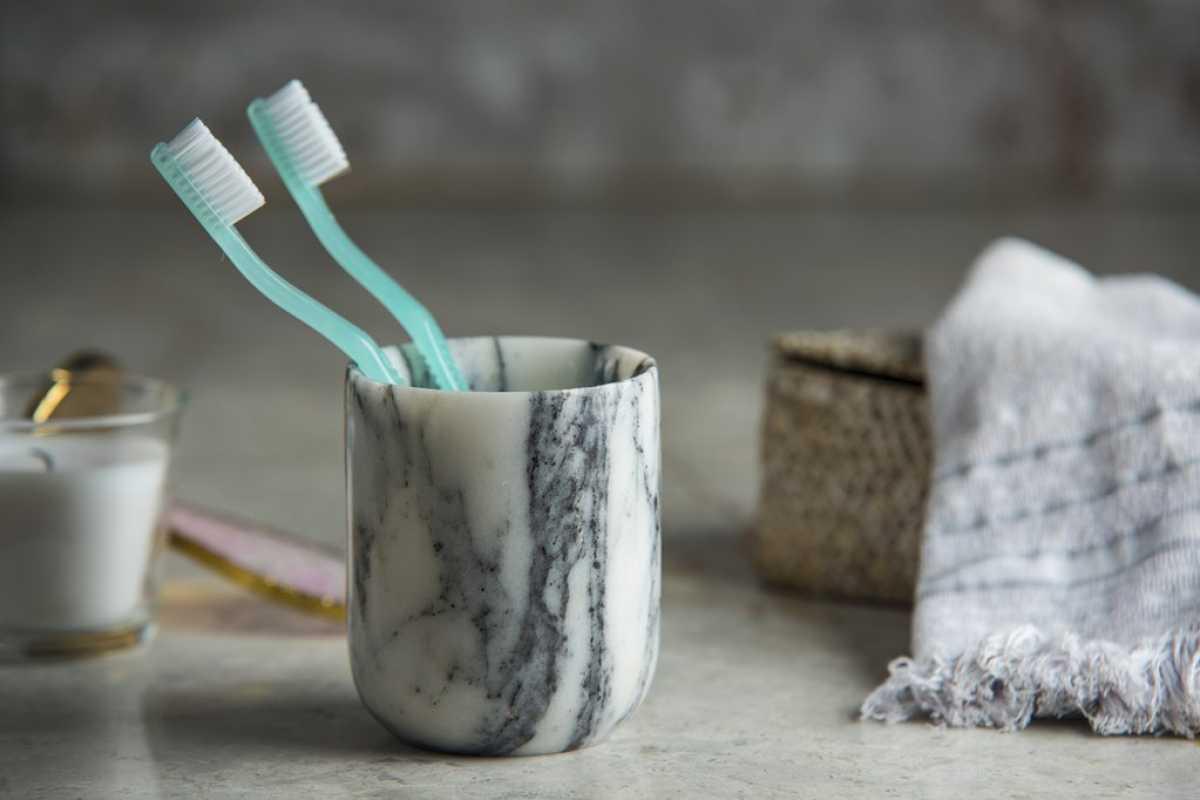Mermer Diş Fırçalık