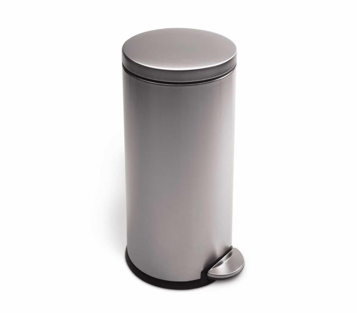 Pedallı Çöp Kovası, 30 litre