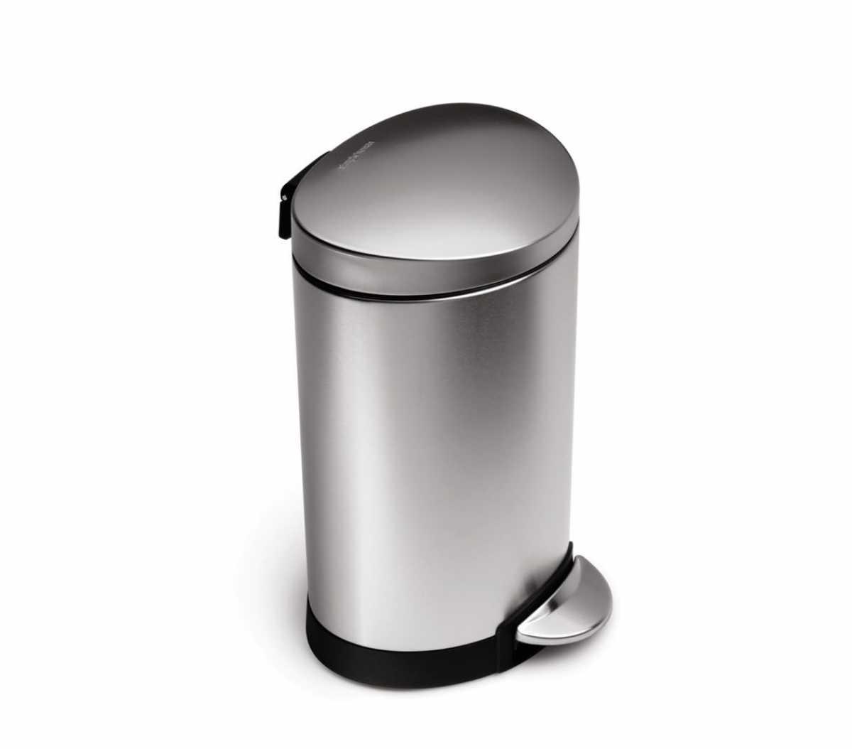 Pedallı Çöp Kovası, 6 litre