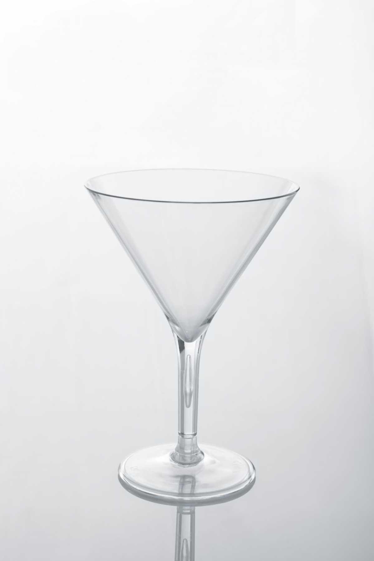 Polikarbonat Martini Bardağı