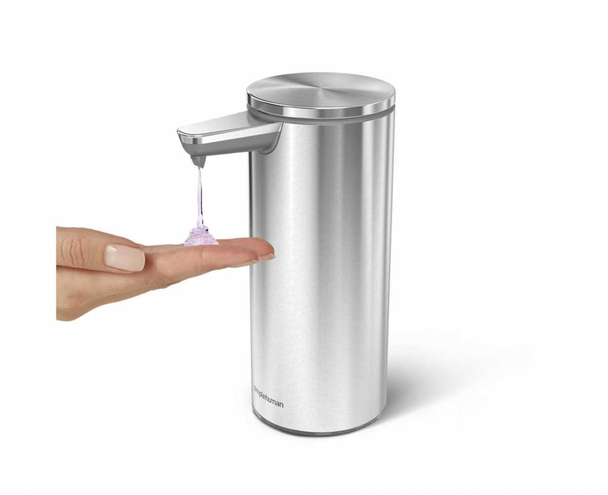 Şarj Edilebilir Sensörlü Sıvı Sabun ve Dezenfektan Dispenseri