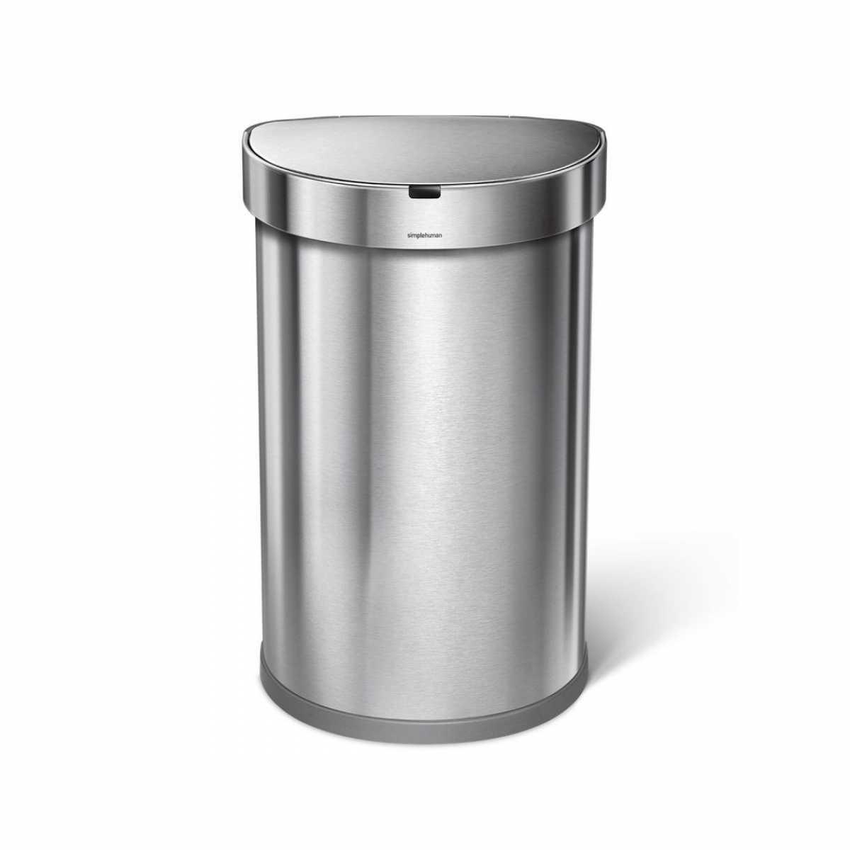Sensörlü Yarım Daire Çöp Kutusu
