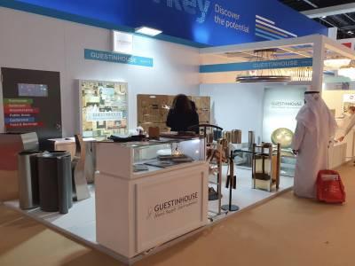 GUESTINHOUSE, THE HOTEL SHOW DUBAI'DE ZİYARETÇİLERİNİ AĞIRLADI